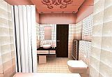 Hotel Carat Budapest - Bathroom - 4 star hotel in a historical part of the Hungarian capital