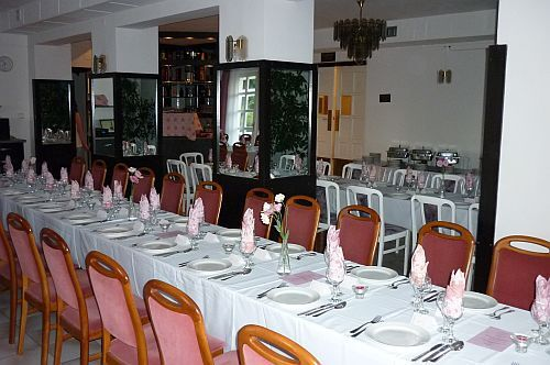 Family events and business lunch in Hotel Budai in Budapest
