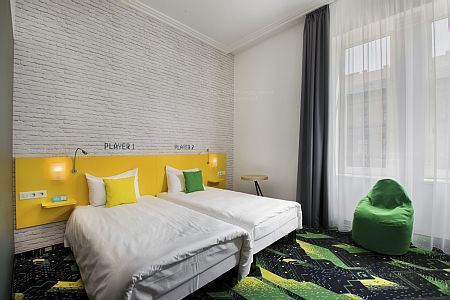 Ibis Styles Budapest Center- hotel room at affordable price in the centre of Budapest close to Blaha Lujza ter